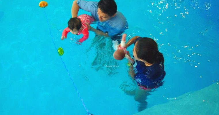 Happy Fish Swim School Review: Baby Swim Lesson