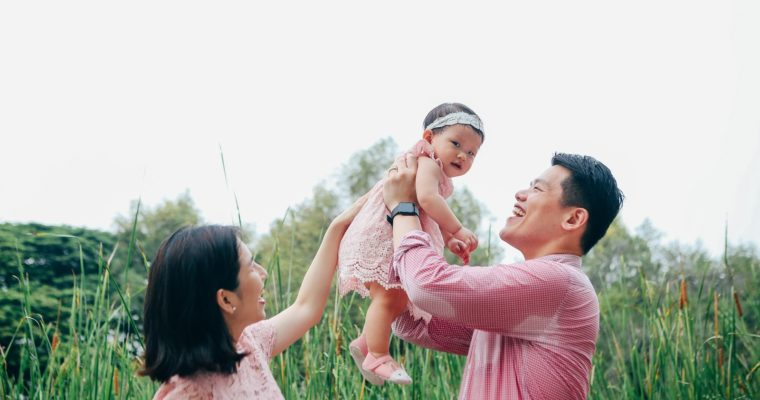 Family Photoshoot in Singapore & Letters to Evangeline
